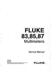 FLUKE 83 SERVICE MANUAL Pdf Download