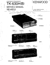 kenwood tk 630h service manual pdf download rh manualslib com Kenwood Tk 3400 Kenwood TK- 480