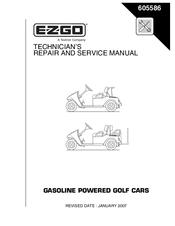 EZGO 605586 REPAIR AND SERVICE MANUAL Pdf Download