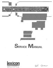 lexicon pcm 41 manuals rh manualslib com lexicon mx400 owners manual lexicon mc-8 owners manual