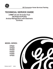 ge pts25 manuals ge pts25 technical service manual