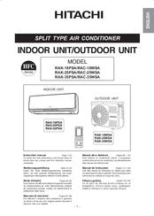 hitachi rak 35psa manuals rh manualslib com hitachi split air conditioner user manual hitachi split air conditioner brochure
