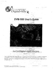 Digital-ally DVM-500 Manuals on digital ally mic holder, alarm line seizure diagram, rj31x connection diagram,