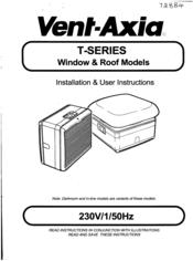 vent axia t series manuals rh manualslib com vent axia user manual Vent-Axia UK