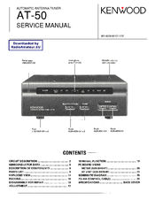 Download the kenwood kha-50 manuals for free hifi manuals.