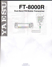 Yaesu FT-8000R Instruction Manual