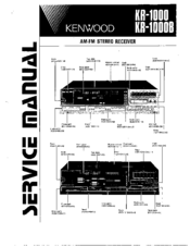 Kenwood KR-1000B Service Manual