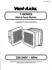 vent axia t series manuals rh manualslib com Vent-Axia Logo Vent-Axia UK
