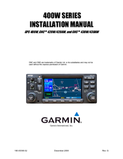 Garmin gns 430aw manuals garmin gns 430aw installation manual 236 pages 400w series sciox Images