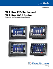 Extron TouchLink TLP Pro 1020 Touchpanel Drivers Download