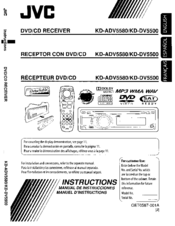 Jvc kd adv5580 manuals jvc kd adv5580 instructions manual sciox Image collections