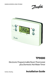 Danfoss tp9000 manuals danfoss tp9000 installation manual 64 pages electronic programmable room thermostat swarovskicordoba Choice Image