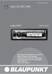 blaupunkt london mp37 manuals rh manualslib com Blaupunkt TV From 80s TV Blaupunkt Auto Wireing