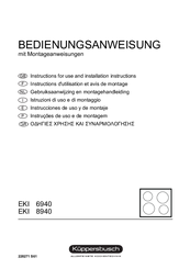 kuppersbusch eki 6840.0 f инструкция