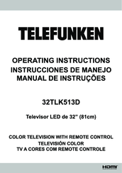 Telefunken DOMUS32DEVW Manuals