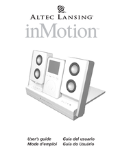 altec lansing inmotion manuals rh manualslib com