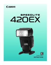 canon speedlite 420ex manuals rh manualslib com Briggs and Stratton 550EX Yard Machines 550EX