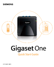 Siemens Gigaset Optical LAN Adapter Duo Quick Start Manual