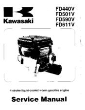 Kawasaki FD440V Manuals