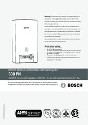 bosch 330 pn n installation manual pdf download rh manualslib com bosch on demand water heater manual bosch hot water heater manual