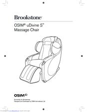 brookstone osim udivine s manuals rh manualslib com brookstone wireless headphones user manual brookstone grill alert user manual