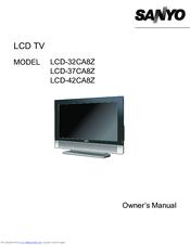 sanyo lcd 42ca8z manuals rh manualslib com sanyo led tv manual sanyo lcd tv service manual