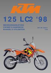 ktm 125 lc2 1998 manuals