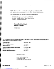 Motorola 010-519-20 Manual Addendum