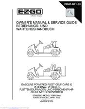 ezgo txt 2002 manuals rh manualslib com ez go txt owners manual ez go txt service manual free download