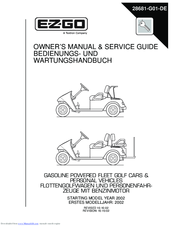 ezgo txt 2002 manuals rh manualslib com ezgo txt user manual 2011 ez go txt owners manual