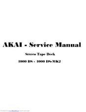akai 4000 ds service manual pdf download rh manualslib com akai 4000ds repair manual akai 4000ds mk2 service manual