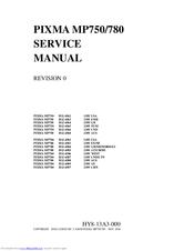 canon pixma mp780 manuals rh manualslib com Canon PIXMA MP780 Wrong Cartridge canon pixma mp780 service manual