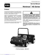 TORO WORKMAN HDX SERVICE MANUAL Pdf Download. on