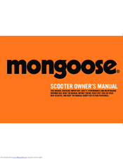 Mongoose r6174 manuals.