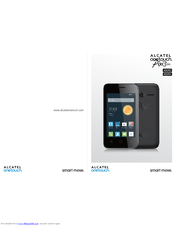Alcatel Pixi3 4009X Manuals