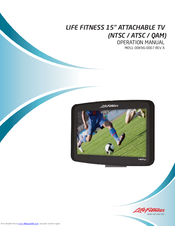 LIFE FITNESS  15″ ATTACHABLE HDTV SCREEN MONITOR ONLY