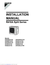 Daikin r-410a manuals.