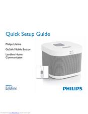 philips lifeline quick setup manual pdf download rh manualslib com Philips Lifeline Coupons Philips Lifeline with Auto Alert