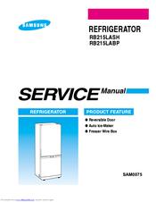 rb215lash samsung refrigerator service manual image refrigerator rh nabateans org samsung side by side fridge freezer service manual samsung side by side fridge freezer service manual