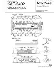 kenwood kac 6402 manuals rh manualslib com Kenwood KAC- 8405 Kenwood KAC 9105D
