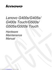 LENOVO G400S HARDWARE MAINTENANCE MANUAL Pdf Download