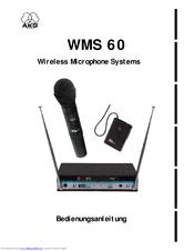 Akg WMS 60 Manuals