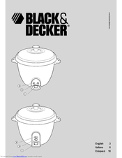 Black & Decker RC1805 User Manual