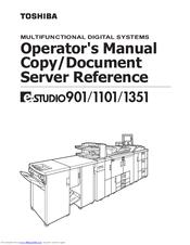 toshiba estudio 1351 full service manual