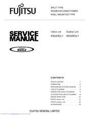 fujitsu inverter halcyon aou24cl1 manuals rh manualslib com Parts Manual Service ManualsOnline