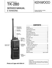 kenwood tk 280 manuals rh manualslib com Kenwood VHF Mobile Radios Kenwood VHF Transceiver