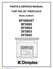 dimplex ef2604 manuals. Black Bedroom Furniture Sets. Home Design Ideas