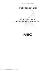NEC Versa LXi Service And Reference Manual