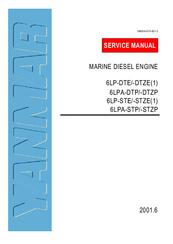 Yanmar 6lpa-stp marine diesel engine service repair manual.