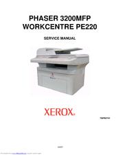 Xerox Phaser 3200mfp Service Manual Pdf Download Manualslib